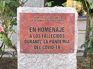 Alpedrete rendirá un homenaje a las víctimas del COVID19 el 30 de agosto