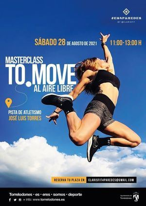La pista de atletismo José Luis Torres de Torrelodones acoge este sábado una MasterClass de baile al aire libre