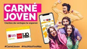 El Carné Joven de la Comunidad de Madrid sumó 43.600 nuevos socios entre enero y julio de 2021