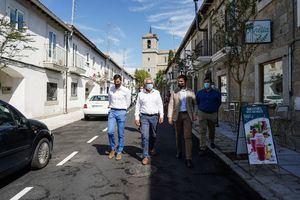 La Comunidad invierte 492.000 euros en las obras de rehabilitación del centro histórico de Valdemorillo