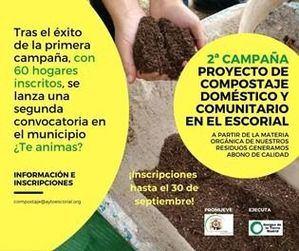 El Ayuntamiento de El Escorial inicia una segunda Campaña de fomento del compostaje doméstico