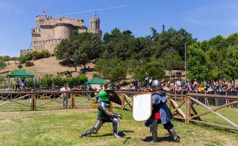 La Comunidad invita a conocer el castillo de Manzanares El Real con exhibiciones de combates medievales