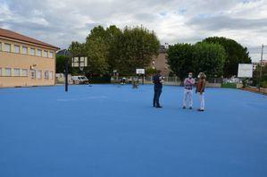 Los colegios de Guadarrama se preparan para la apertura del curso escolar