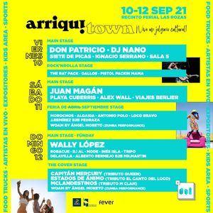 Don Patricio, DJ Nano y Juan Magán, platos fuertes del festival ArriquiTown de Las Rozas