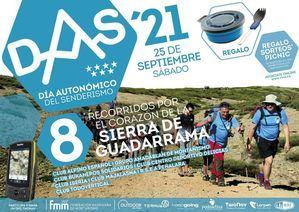 El Día Autonómico del Senderismo se celebrará el 25 de septiembre con ocho rutas por la Sierra