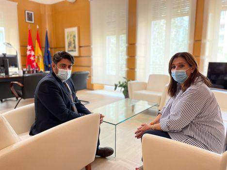 La Comunidad de Madrid y el Ayuntamiento de Pozuelo de Alarcón analizan la situación de la M-500