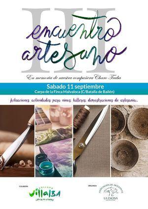Este sábado, III Encuentro de Artesanos de la Sierra Noroeste de Madrid en Collado Villalba