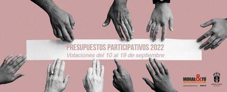 El viernes comienzan las votaciones de los Presupuestos Participativos 2022 de Moralzarzal