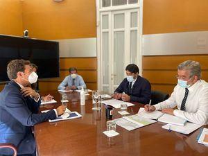 Encuentro sobre movilidad entre la Consejería de Transportes y el Ayuntamiento de Las Rozas