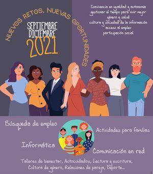 Empleo, salud o la eliminación de la brecha digital, en el programa de actividades de Mujer de Collado Villalba