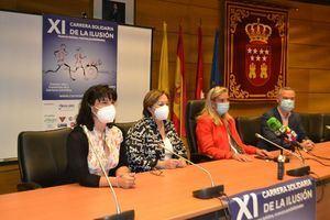 El 26 de septiembre se celebra en Collado Villalba la 'XI Carrera Solidaria de la Ilusión'