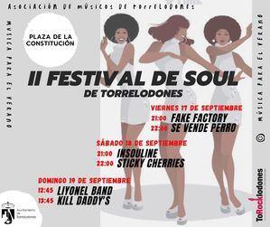 Este fin de semana, segunda edición del Festival de Soul de Torrelodones