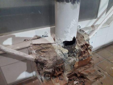 El PSOE de Majadahonda denuncia el cierre del Polideportivo Huerta Vieja por un grave fallo estructural