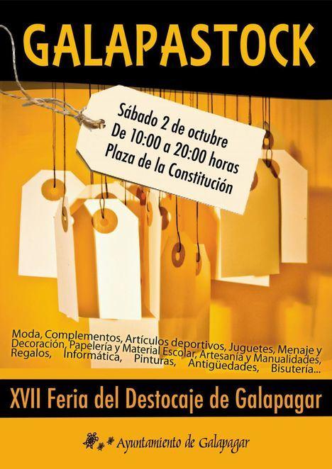 Galapagar abre el plazo de inscripción para participar en una nueva edición de la Feria del Destocaje