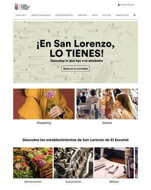 San Lorenzo lanza ensanlorenzolotienes.es, un directorio comercial con canal de venta online para las empresas
