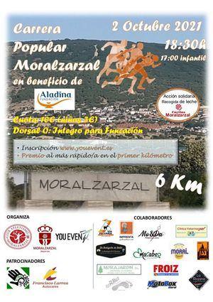 Moralzarzal celebra este sábado su Carrera Popular a beneficio de la Fundación Aladina