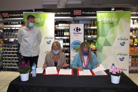 La Agencia de Colocación de Collado Villalba gestionará las ofertas de empleo de Carrefour en la localidad