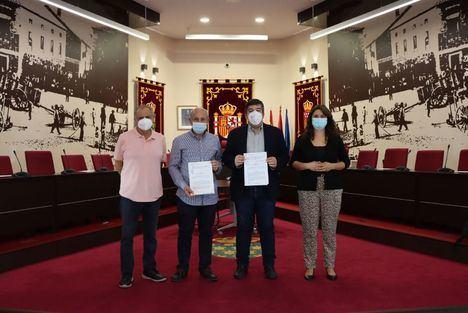 El Ayuntamiento de Galapagar y el Club Deportivo Galapagar firman un nuevo convenio de colaboración
