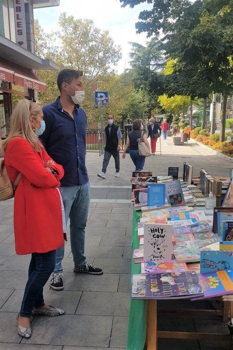 El Rastro del Libro antiguo y de ocasión de Collado Villalba regresa a la calle Real