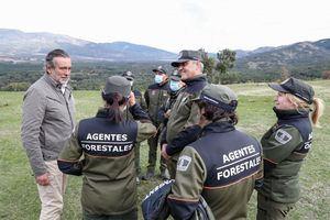 La Comunidad agradece a los agentes forestales su labor en seguridad, emergencias y cuidado del medio ambiente