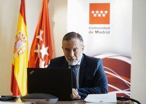 Enrique López, consejero de Presidencia, Justicia e Interior