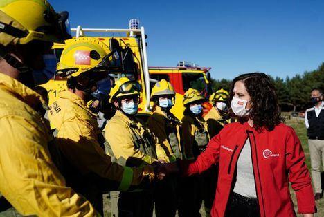 Ocho de cada diez incendios que se registraron este verano en la Comunidad de Madrid se quedaron en conatos por la rapidez de los equipos de extinción