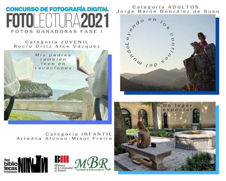 Las imágenes participantes en Fotolectura 2021, en la Biblioteca de Torrelodones
