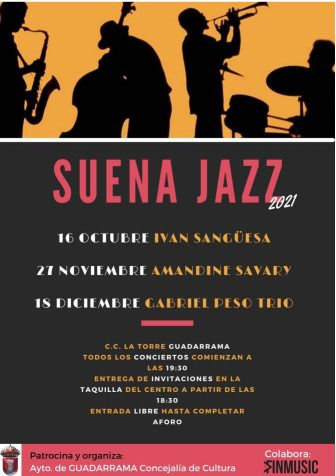 El jazz, protagonista de la programación cultural de otoño en Guadarrama con 'Suena jazz'