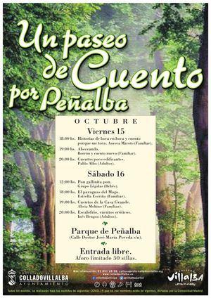El Parque de Peñalba de Collado Villalba se convierte este fin de semana en un escenario de cuentos
