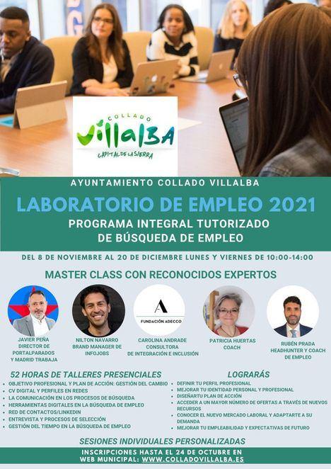 Comienza una nueva edición del 'Laboratorio de empleo' de Collado Villalba