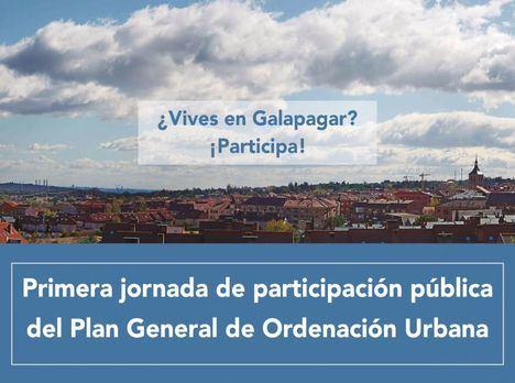 Galapagar organiza, el 23 de octubre, la primera Jornada de Participación Pública del Plan General