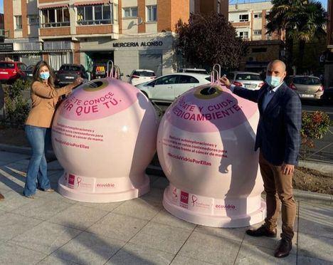 Majadahonda participa en la campaña 'Recicla vidrio por ellas' de Ecovidrio