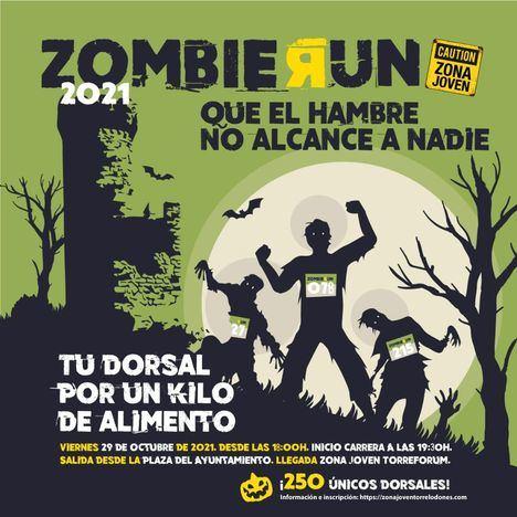 Llega a Torrelodones la Zombie Run, la carrera más terrorífica del año