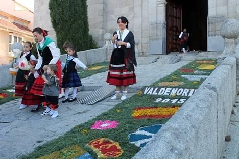 Arrancan los preparativos de la alfombra floral para la romería de la Virgen de la Esperanza