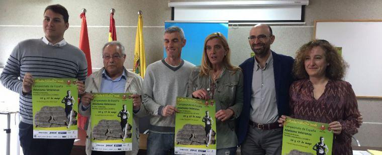 Collado Villalba acoge el Campeonato de España de Atletismo de Veteranos