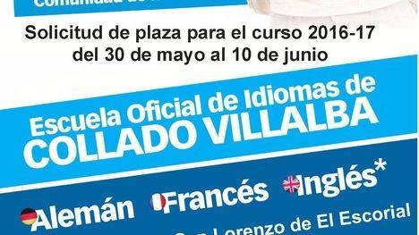 La EOI de Villalba abre la solicitud de plazas el 30 de mayo