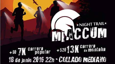 VII Noche de Miaccum Night Trail en Collado Mediano
