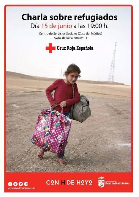 Charla sobre refugiados en Hoyo