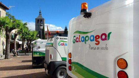 Galapagar renueva su flota de limpieza