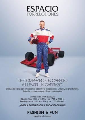 Espacio Torrelodones trae en junio lo mejor de la Fórmula 1