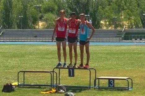 Un joven galapagueño, campeón de Madrid en 600 metros