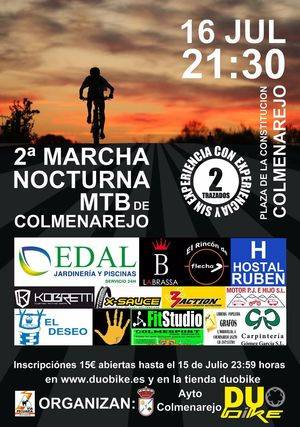 II Marcha MTB Nocturna de Colmenarejo