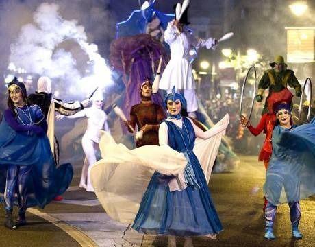 La noche de los ángeles en Hoyo de Manzanares