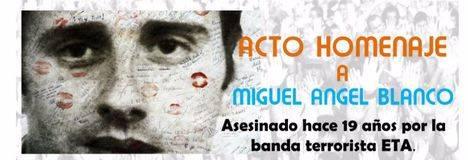 Acto en recuerdo de Miguel Ángel Blanco