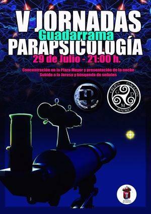 Jornada de parapsicología y alerta OVNI en Guadarrama
