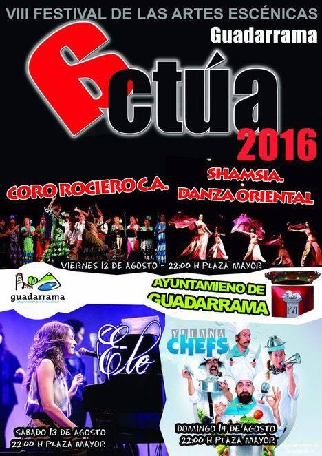 """Nueva edición del festival de artes escénicas """"Guadarrama Actúa"""""""