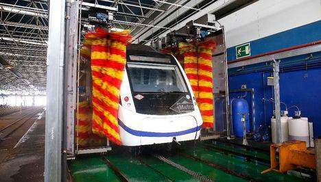 Metro destina 92,8 millones de euros anuales al mantenimiento de trenes