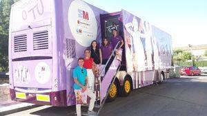 """El autobús """"Drogas o Tú"""" recala en 47 municipios de la CAM"""