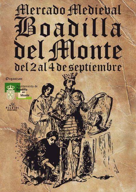 Nueva edición del tradicional Mercado Medieval de Boadilla