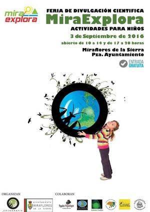 Miraexplora, II Feria de divulgación científica